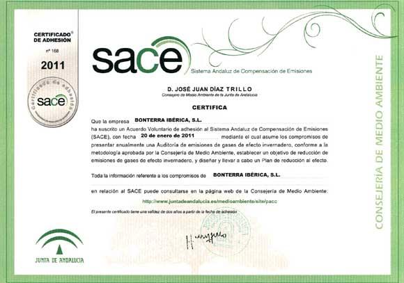 Convenio SACE (Sistema Andaluz de compensación de emisiones)