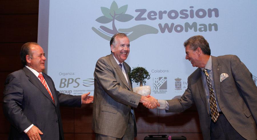 Premio Zerosión a Jesús González