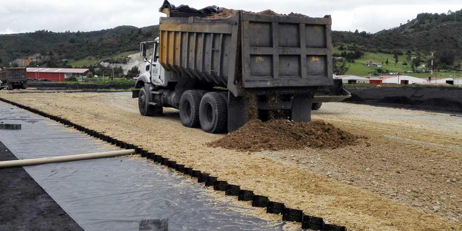 Estabilización de caminos y pavimentos