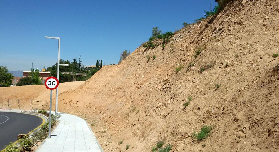 Mallas Krismer para control de la erosión