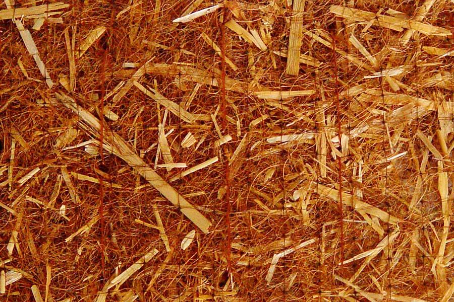 Manta orgánica de paja y coco