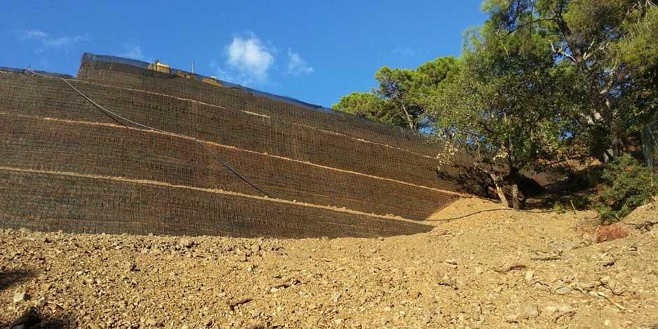 Muros verdes para infraestructuras